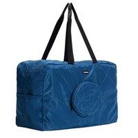 Duffel Bags Men Women Outdoor Zipper Duffle Shell Shape Casual Solid Holdall Hand Travel Bag Large Capacity Foldable Lightweight Weekend