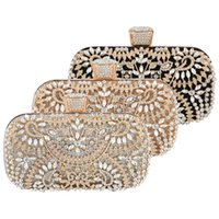 2021 new cross border Dinner Bag European and American women's handbag diamond inlaid banquet handbag dress Evening Bag Handbag