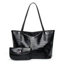 HBP One Quality Bag In Combo Fine Designer Messenger High Purse Fashion Crocodile Pattern Handbag Two Composite New Htpim