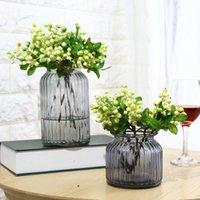 محاكاة الاصطناعي التوت زهرة النبات باقة المنزل حفل زفاف الديكور F2 الزخرفية الزخرفية
