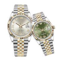 WatchBR-U1 Calidad 41mm 36mm 31mm 28 mm para mujer Relojes automáticos para mujer Mecánico Reloj de cuarzo Diamante Moda impermeable Correa de acero inoxidable Pulsera