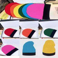 디자이너 모자 비니 고품질 니트 모자 스키 모자 스냅 백 마스크 망 맞는 겨울 두개골 모자 유니섹스 캐시미어 편지 럭셔리 캐주얼 야외 패션 6 색
