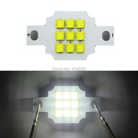 Ampoules 5PCS 3 Série 3 Cree parallèle XT-E XTE 10W - 20W LED Émetteur Light Blanc 6000K Royal Blue 450nm 455nm 900-2000mA DIY