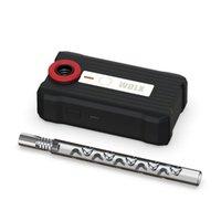 Tuyaux de fumage Kit de chauffage à induction WDLX avec dispositif de chauffage à sec quartz Détections automatiquement 4-6 secondes Réchauffement rapide