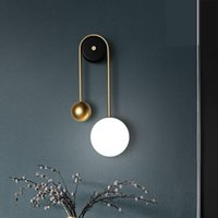 Nordic Minimalistische LED Bettwand Licht Einfache Moderne Schlafzimmer Wohnzimmer Hintergrund Dekoration Luxushalterung Lampe