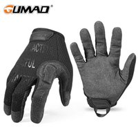 Tactical Gloves Army Long Full Finger Glove Men Black Military Airsoft Sport Hiking Biker Cycling Riding Driving Hunting Mittens