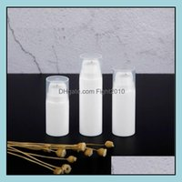 Bottles Packing Office School Business & Industrial5Ml 10Ml White Lotion Pump Mini Sample And Test Bottle Airless Container Cosmetic Packagi