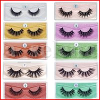 3D Mink Eyelash Messy Lashes Natural Soft False Eye lash Mak...