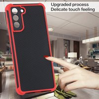Corners Shockproof Phone Cases For Samsung Galaxy A21S A22 A32 A52 A72 4G 5G Camera Protector Stripe Cover