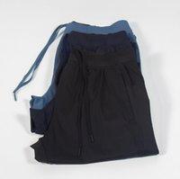 Designer lulu men pant legging running quick dry elastic waist sport mens pants Jogging trousers casual quick-drying fabric leg-binding spor