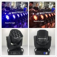 Effetti 10Lot 7x15W RGBW 4in1 Lyre DMX LED Bee Bee Eye Moving Head DJ Zoom Light