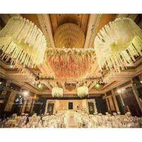 2M long Elegant Artificial Orchid flower Wisteria Vine Rattan For Wedding Decorations flower Garland Home Ornament