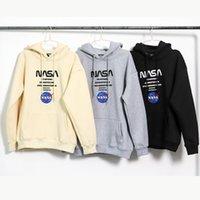 NASA астронавт мужские и женские дизайнерские капюшоны моды толстовки осень зима новая Тренда толстовка с плюшевой парой Top Hoodiess