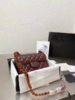 2021 CC الأزياء حقيبة شخصية الرجعية الشارع اطلاق النار حقيبة سلسلة البرية، جميلة بلون كلاسيكي مصمم المعين المعين حقيبة الظهر