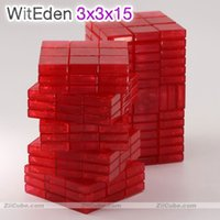 WITEGEN Magic Cube 3x3x13 3x3x15 Magical Puzzle 3 * 3 * 15 Logica Puzzle Educational Twist Twist Creative Toy Game Stickers Edition 3 3 15