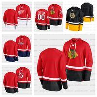 88 David Passrnak Boston Bruins Jersey Black Super Mission Slapshot Lace-Up Pullover Sudadera Brad Marchand Hoodies BlackHawks Alas Capitales Devils Personalizado