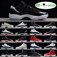 [Bracelet + Chaussettes + Boîte d'origine] Air Jordan 11 Jordans AJ11 shoes Jumpman 11 Space Confiture 45 11s Chaussure Gym Rouge Midnight Navy Gamma Gum Blue Moonmen Chaussures
