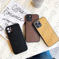 Mode Klassische Designer Telefon Hüllen für iPhone 13 12 11 PRO MAX XS XR XSMAX 7 8 Plus Top-Qualitäts-Leder-Luxus-Volllinsenschutz-Handy-Abdeckung mit Box