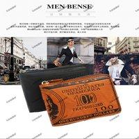 Coin wallet mens card holder portable handbag high-quality leather 8-bit slot Germany folding craftsmanship