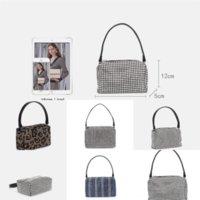 QXZVM Famous Bao Boaa Borse da donna a catena portafoglio borse 6 sacchetti diamante reticolare piegatura oltre a borse da donna piccola borsa a tracolla