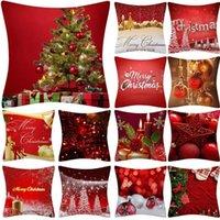 Cushion Decorative Pillow Christmas Cushion Cover Case Glitter Polyester Sofa Throw Home Decor Cojines Decorativos Para Housse Coussin 45*45