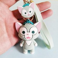 Japanese Anime Gerardoni Cat Keychain Girl Cute Stella Doll ...