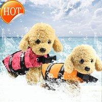 Pet dog life jacket swimsuit clothing summer pet Swimsuit Large and small dog life jacket dog