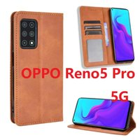 For OPPO Reno5 Pro Case Magnetic Book Stand Cubot Flip Card Protective Reno 5 5G Wallet Leather Phone Cover Cell Pouches