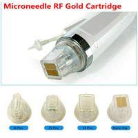 Cartuccia d'oro Frazional RF Microneedle Microneedle Misurabile Misurabile 10/25/64 / Nano Pin Microneedling Micro Ago Ago Cartucce Accomodamenti Suggerimenti per il sollevamento della pelle Anti Smagliature