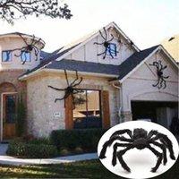 30 cm / 50 cm / 75 cm / 90 cm / 125 cm / 150 cm / 200cm czarny pająk Halloween Dekoracja nawiedzana Dom Prop Kryty Ogrodniczy Dekoracje
