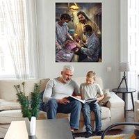 Em boas mãos Grande pintura a óleo sobre canvas home decor handcrafts / HD Imprimir fotos de arte de parede personalização é aceitável 21071011