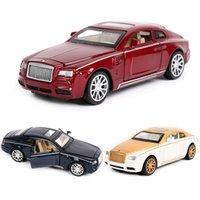 132 Juguete Coche Rolls-Royce Super Car Car Diecasts Vehicles Toy Vehicles Modelo Miniatura Juguetes para Regalos Modelo educativo