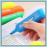 Laser Pointer Supplies Office School Business & Industrialmarker Creative Fluorescent Maker Color Pen Mark Pens Set Inclined Students Highli