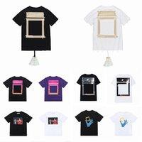Affs Store летние мужские женские дизайнеры футболки свободные тройники модные бренды топы человека повседневная рубашка люкс одежда уличные шорты рукав белая одежда футболки