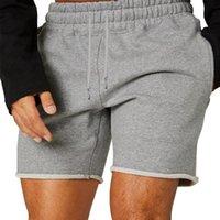 Men's Shorts 2021 Short Summer Men Fashion Solid Color Sports Casual Boy Loose Basketball Three-point Pants Running Mens