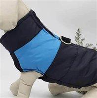 Sonbahar Kış Köpekleri Giyim Sıcak Yelek Pet Köpek Yelek Palto ile Tasmalar Yüzükler Evcil Giysi Bırak Gemi 531 S2