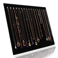 Ювелирные изделия сумки, сумки 17 крюк ожерелье дисплей подставка для женщин органайзер держатель хранения чехол браслет стойки