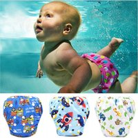 Shorts Cartoon Summer Clothing Toddler Baby Boy Girl Swim Diapers Reuseable Adjustable For Swimming Lesson #325