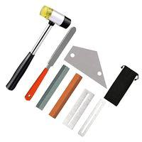 기타 도구 키트 포함 Fret 고무 해머 도구 Luthier 파일 스테인레스 스틸 로커 골프 훈련 원조
