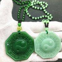 Anhänger Halsketten Tai Chi Acht Trigtriga Kristall Halskette Für Männer und Frauen Feng Shui Supplies Szenische Geschenke ändern mein Leben vom Tag