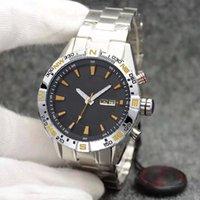 2021 Мужские спортивные часы Montre de Luxe Japan Quartz Движение Хронограф Черное лицо Orologi Da Uomo Di Lusso Мужчины мужские Часы Наручные часы
