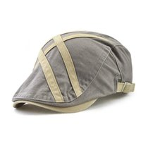 Visors 2021 Fashioned Beret European Casual Concise Peaked Cap Well Figure Subsidies Cloth Small Labeling 12894