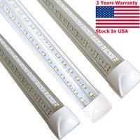 T8 4FT LED 라이트 튜브 - 72W 형광등 교체, 7200 루멘, 차가운 흰색 램프