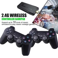 Y3 Lite Video Game Consoles 10000 Games 4K Game StickTV Video Game Console 2.4G Wireless Controller For PS1 SNES 9 Retro Console H0828