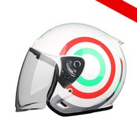 Motorcycle riding helmet, men's and women's safety half helmets, the same style is customized