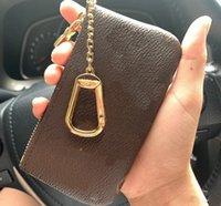 للجنسين محفظة امرأة محفظة الحقيبة الرجال حلقة رئيسية حامل بطاقة الائتمان عملة محفظة الفاخرة مصغرة محفظة حقيبة 2021 مصغرة