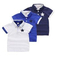 Summer new baby boys short sleeve children T-shirt sports short sleeve T-shirts kids boys Polo Shirt children wear tops 7155 01