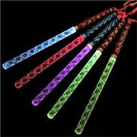 Party Decoration 200pcs Wholesale LED Stick Colorful Flashing Batons 26cm Light-Up Festival Concert Prop Bar Wedding