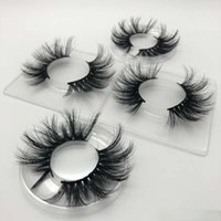 25mm 3d Nerz Wimpern Natürliche lange Falsche Große Kapazität Dicke Streifen Augen Makeup Werkzeug 1 Paar