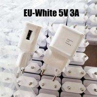 100pcs DHL OEM USB 벽 충전기 5V 3A 2A 1A 미국 / EU 플러그 여행 전원 어댑터 삼성을위한 빠른 빠른 충전기